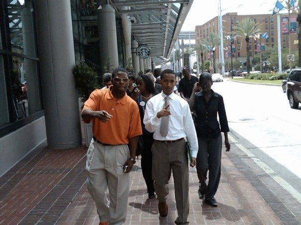 Here are a few pictures of students attending Experimental Biology Conference. New Orleans. April 2009.